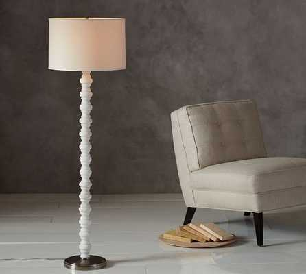 Stacked Stone Floor Lamp Base - Pottery Barn