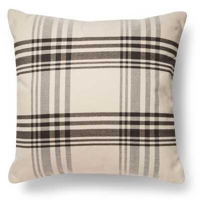 Oversized Pillow Plaid - Threshold - Target