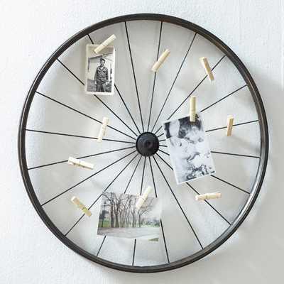 Vintage Wheel Photo Holder - AllModern