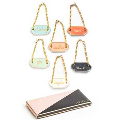 Decanter Tag S/6 - High Fashion Home