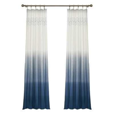 "Arashi Single Curtain Panel - 84"" L x 52"" W - Wayfair"