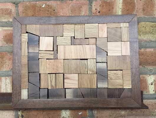 Reclaimed Wood Wall Art: City Blocks - Etsy