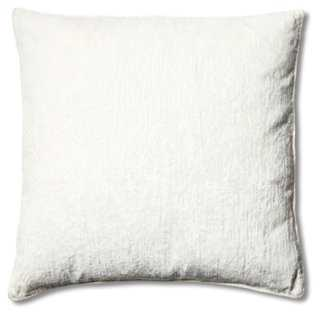 Hendrix 20x20 Pillow, Winter White - One Kings Lane