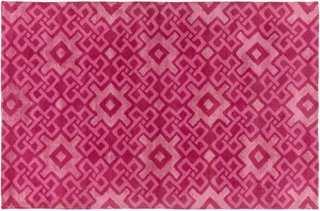 Esmae Rug, Hot Pink - 8' x 11' - One Kings Lane