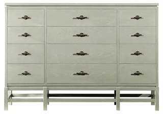 Tranquility 12-Drawer Dresser, Seafoam - One Kings Lane