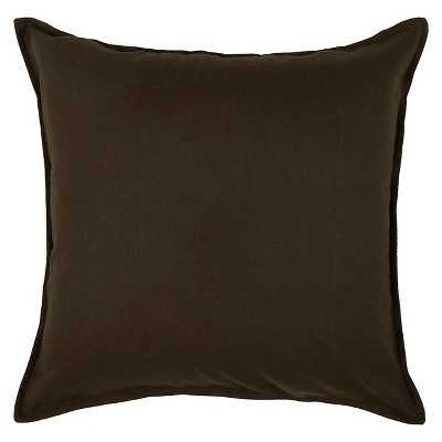 """Rizzy Home Solid Decorative Pillow-20""""sq.- Polyester fill - Target"""