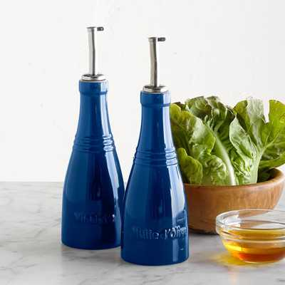 Le Creuset Oil & Vinegar Cruet Set - Williams Sonoma