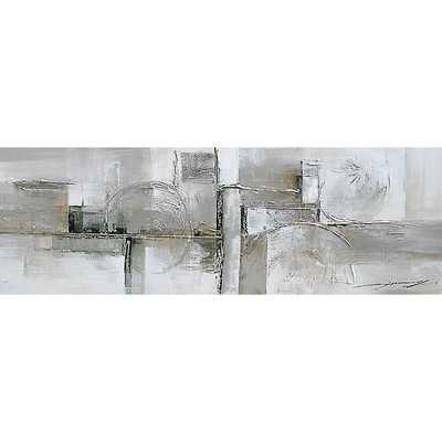 "Contemporary & Abstract Art Serenity Original Painting-20"" H x 59"" W x 2"" D- Unframed - Wayfair"