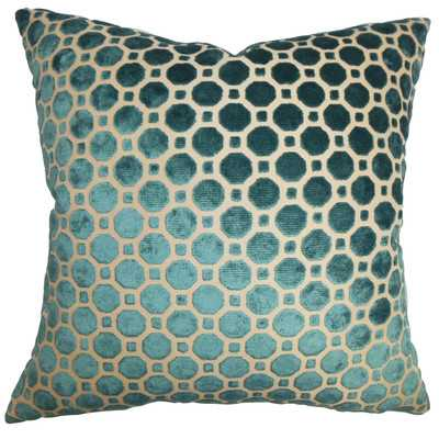 Kostya Geometric Cotton Throw Pillow Cover-18''x 18''-insert not included - Wayfair