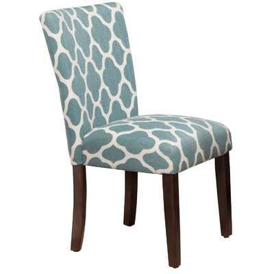 Geo Brights Parsons Chair - Wayfair