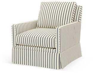 Avon Swivel Chair - One Kings Lane
