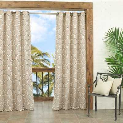 Target home home décor curtains, blinds & shades curtains Parasol Totten Key Trellis Indoor/Outdoor - Target