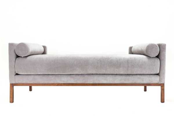 Tailored Daybed W/ Bolster Cushions - Chairish
