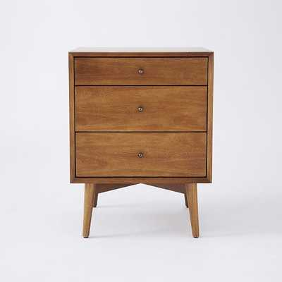 Mid-Century Side Tables - Acorn-3-Drawer - West Elm