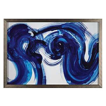 Flourish - 46.75''x 32.75'' - Framed, No Mat - Z Gallerie
