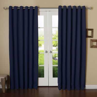 "Extra Wide Width Thermal Single Curtain Panel, 96"" - Wayfair"