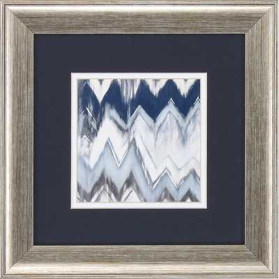 Chevron Pattern 2 Piece Framed Graphic Art Setby Propac Images - Wayfair
