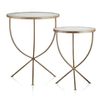 Jules Accent Tables - Set of 2 - Crate and Barrel