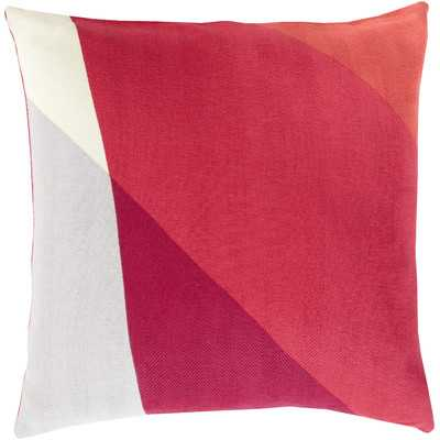 "Geometric Cotton Throw Pillow - 18"" H x 18"" W - Polyester insert - Wayfair"