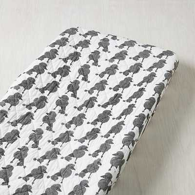Poodle Party Changing Pad Cover - Land of Nod