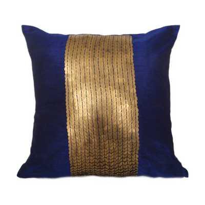 Indigo Blue Decorative Pillow Cover - 24x24 - No Insert - Etsy