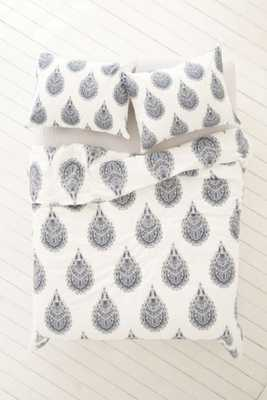 Plum & Bow Cato Henna Duvet Cover -  Full/Queen - Urban Outfitters