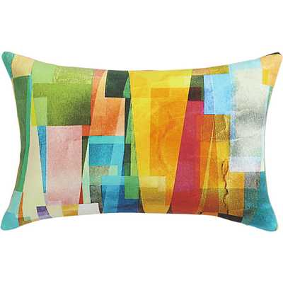 """collage 18""""x12"""" pillow - CB2"""