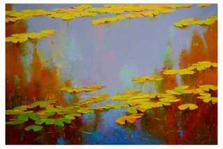 """Vahe Yeremyan, Autumn Palette - 45""""L x 30""""W - Unframed - One Kings Lane"""