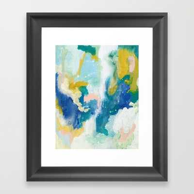 "In The Sea - 10"" X 12"" - Framed - Society6"