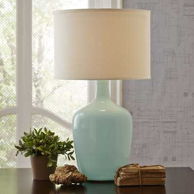 Brookeway Table Lamp - Blue - Birch Lane