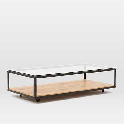 Industrial Display Coffee Table - West Elm