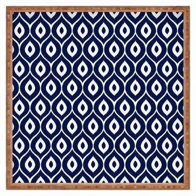 Deny Designs Decorative Aimee St Hill Leela Wooden Tray - Navy - Target