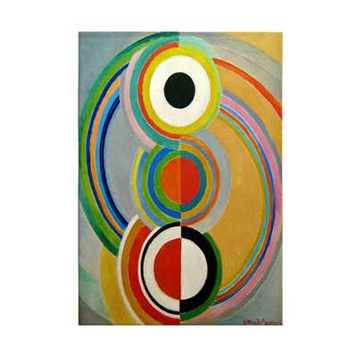 'Rythme 1938' by Sonia Delaunay Painting - AllModern