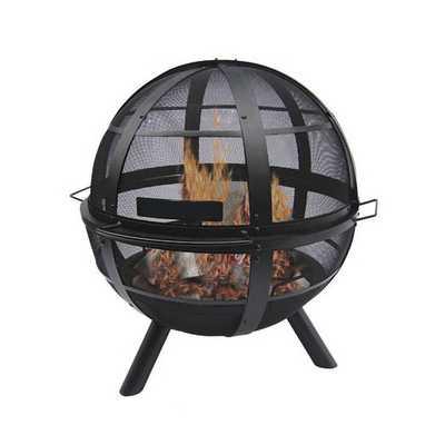 Ball of Fire Steel Bowl Fire Pit - AllModern