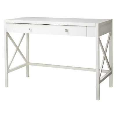 Hamilton X Slat Desk - white - Target