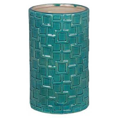 Geometric Pattern Ceramic Vase - Target