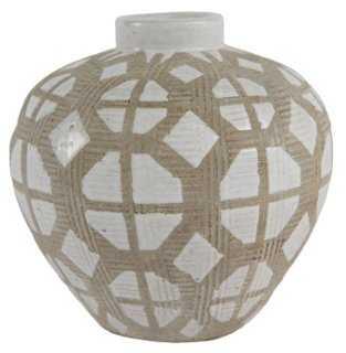 """5"""" Graphic Vase - One Kings Lane"""
