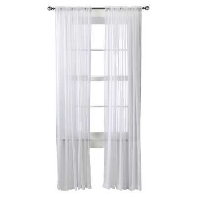 "Thresholdâ""¢ Chiffon Sheer Curtain Panel - Target"