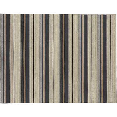 The Hill-Side workwear blanket stripe rug - CB2