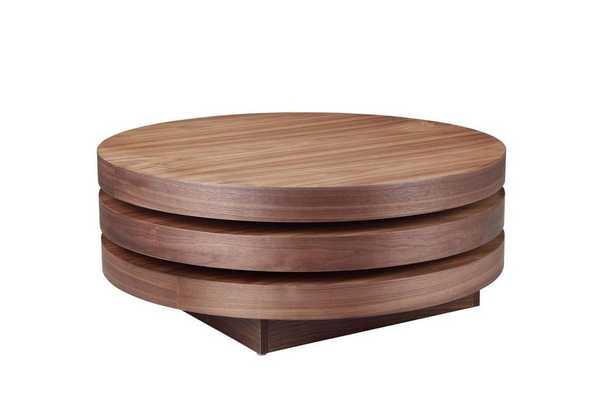 Torno Coffee Table Walnut - Domino