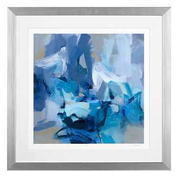 Charlotte Blue - Limited Edition-29.5''W x 29.5''H -Framed - Z Gallerie
