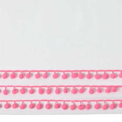 Poodle Party Crib Skirt - Land of Nod
