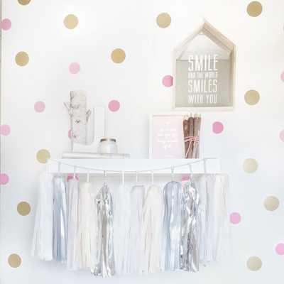 Nursery Wall Decal Confetti - Soft Pink - Etsy