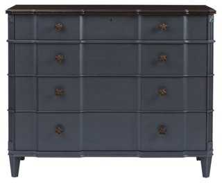 Claudia Single Dresser, Slate - One Kings Lane