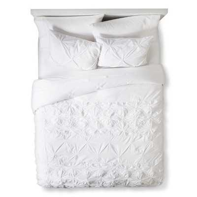 Boho Boutique® Texture Duvet Cover Set - White - Target