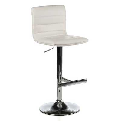 Motivo Adjustable Height Swivel Bar Stool with Cushion - AllModern