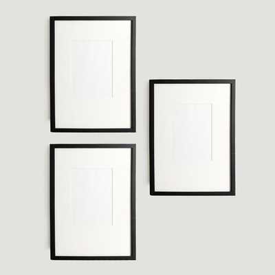 Gallery Frames - Set of 3, 14x17 - West Elm