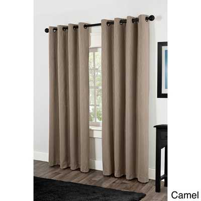 Crete Thermal Insulated Grommet Top 84 inch Curtain Panel Pair - Overstock