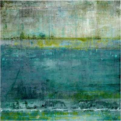 Looking at the Horizon III - 30x30 - Unframed - High Fashion Home