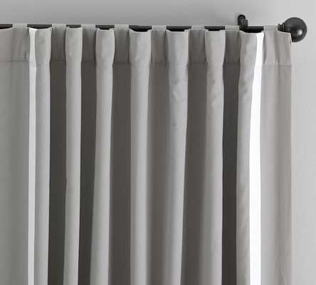 Bordered Applique Drape - Pottery Barn